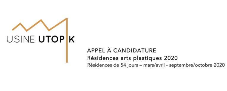 Résidences arts plastiques 2020 à Usine Utopik
