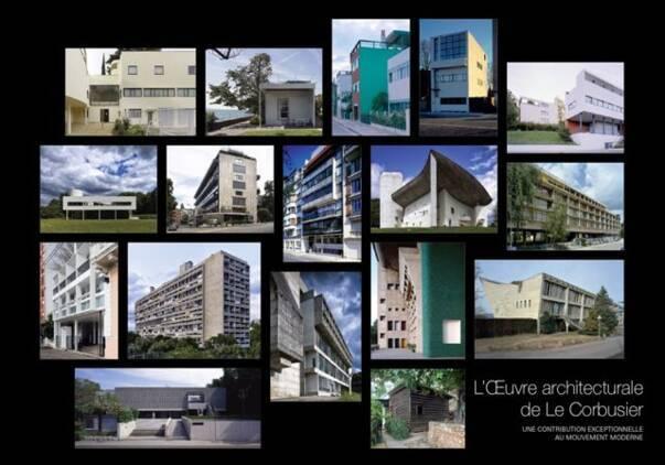 17 réalisation de Le Corbusier