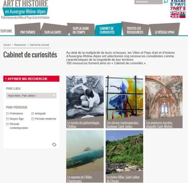 Haut-Allier - cabinet de curiosités -Vpah