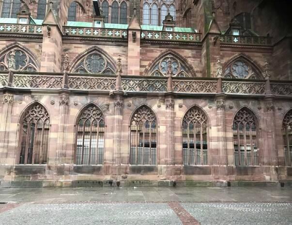 Cathédrale de Strasbourg - galerie Goetz après restauration