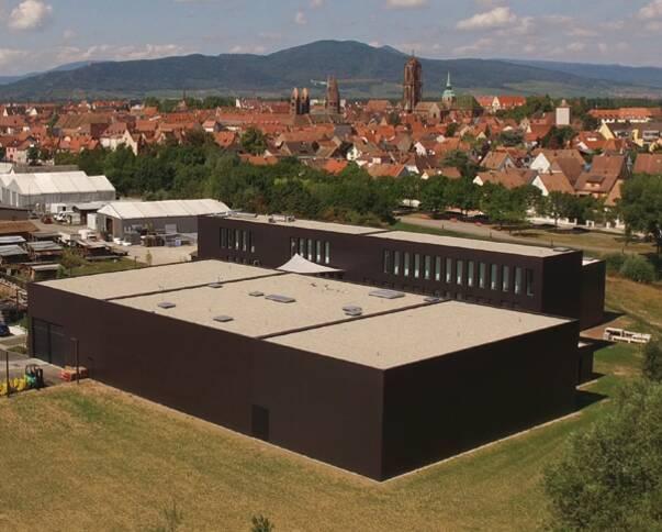 Centre d'étude et de conservation d'Alsace - Vue d'ensemble © Archéologie Alsace