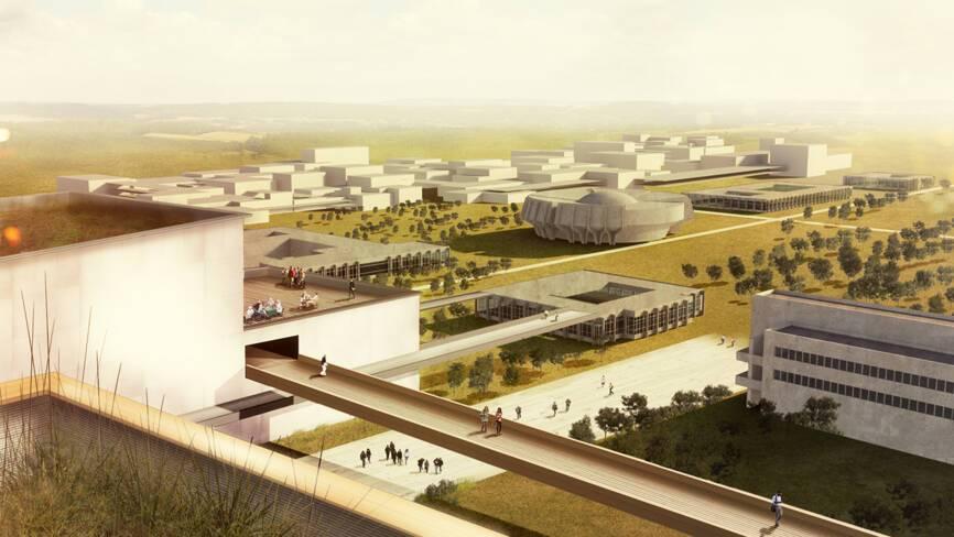 Sonia Leclercq et Jean-Aimé Shu de l'agence SOJA architecture