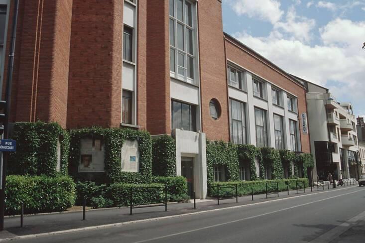 Facade Vue nord rue Séraucourt