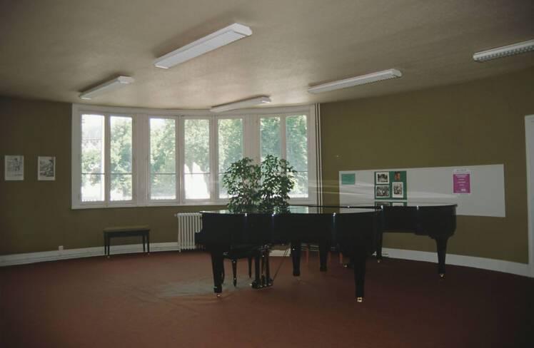 Salle de l'école de musique