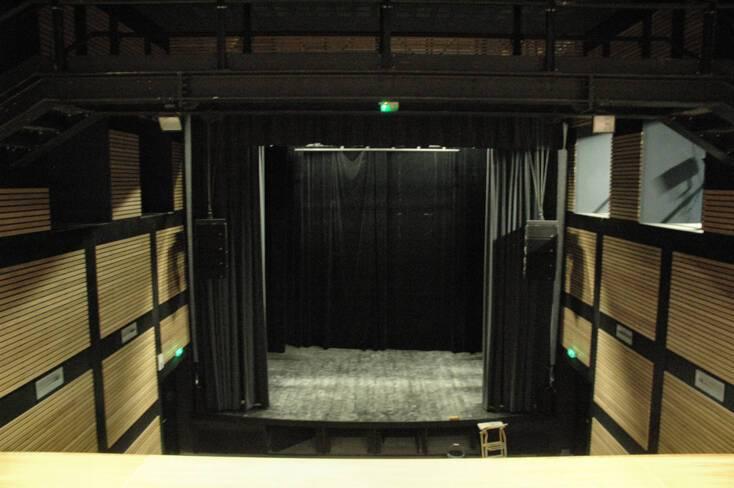 Salle de concert après travaux