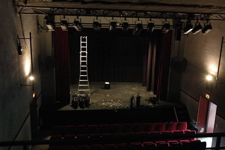 Salle de concert avant travaux
