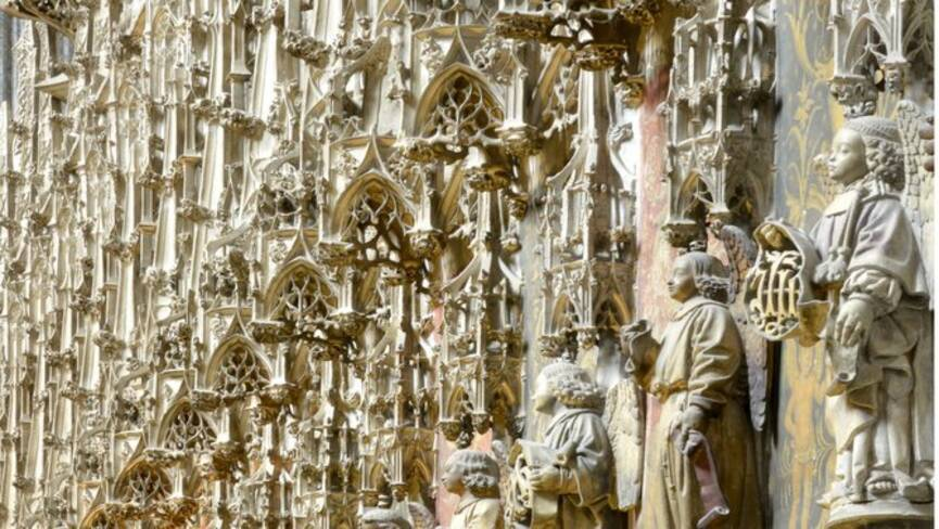 Chœur des chanoines, cathédrale Sainte-Cécile, Albi