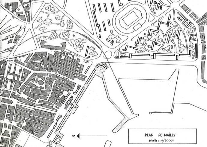 Plan du projet de Mailly