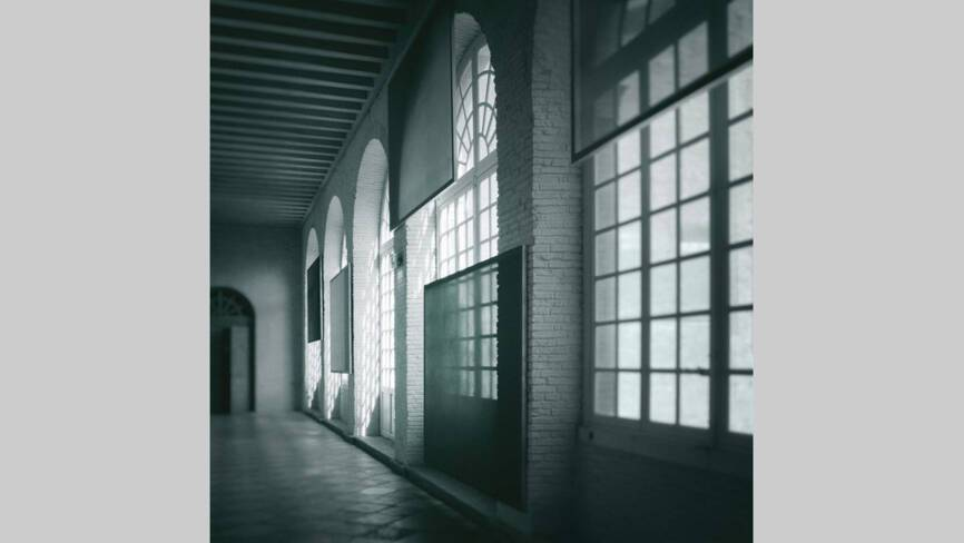 La grande galerie et l'oeuvre de Cécile Bart