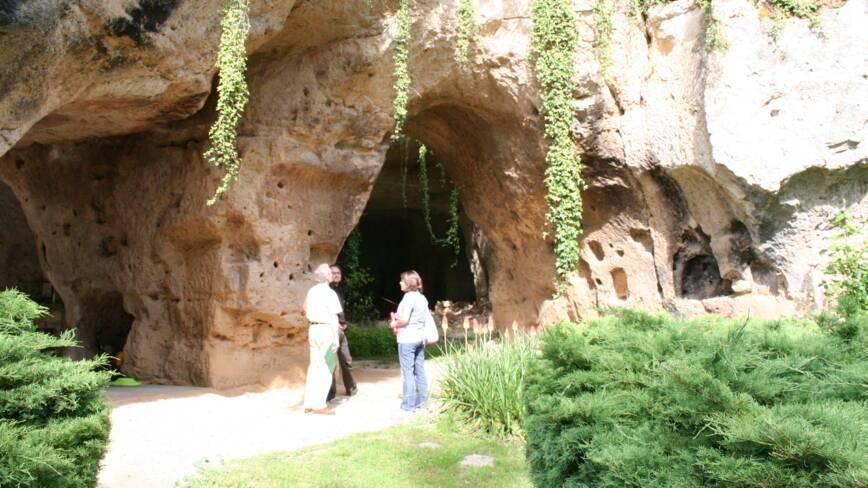 Aisne, Paissy, les creutes calcaires