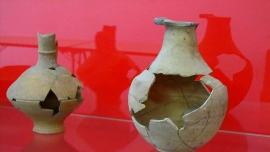 Des céramiques en exposition