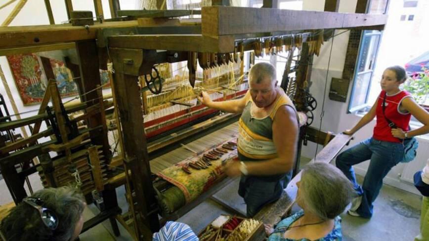 Aisne, Fresnoy-le-Grand, la maison du textile