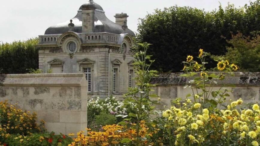 Aisne, Blérancourt, les jardins du Nouveau Monde