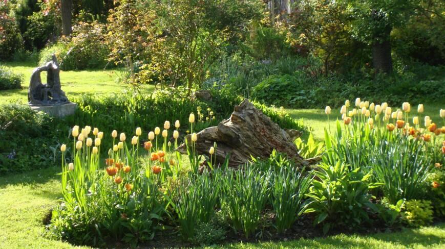 Aisne, Brécy, les jardins du clos joli