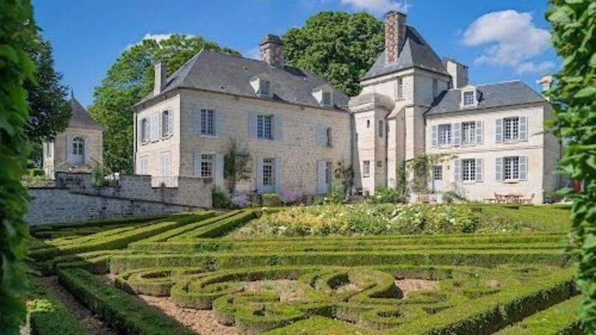 Aisne, Largny-sur-Automne, les jardins de la Muette