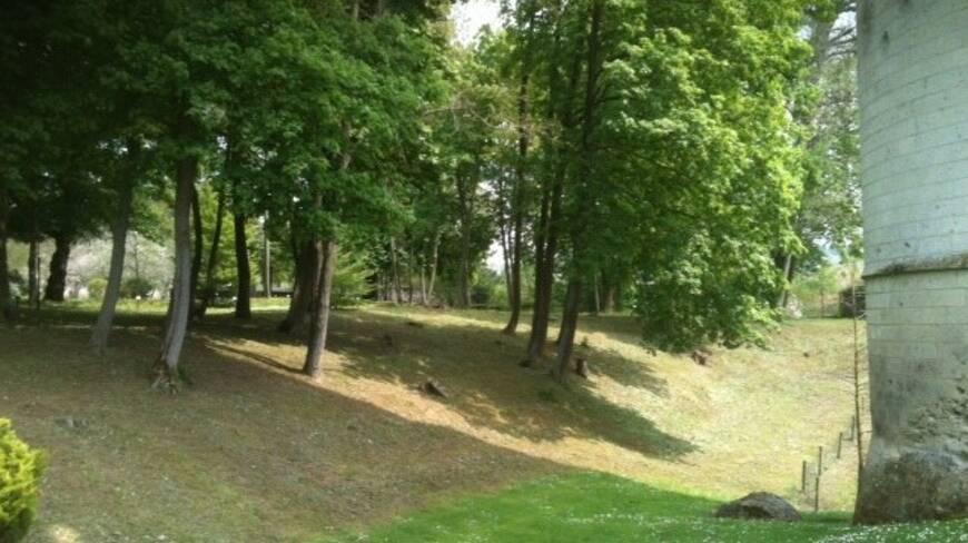Aisne, Septmonts, parc du donjon