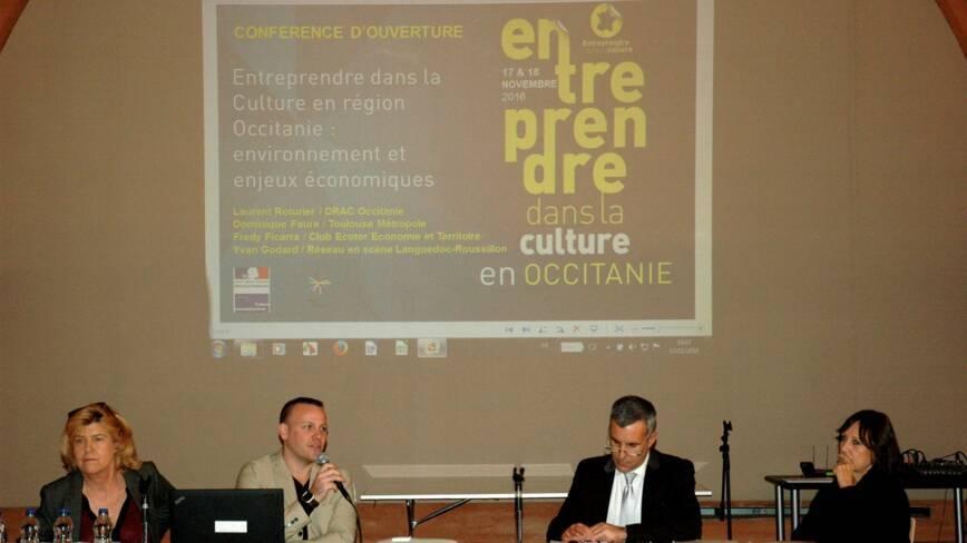 Dominique Faure, Yvan Godard, Laurent Roturier et Anne Matheron