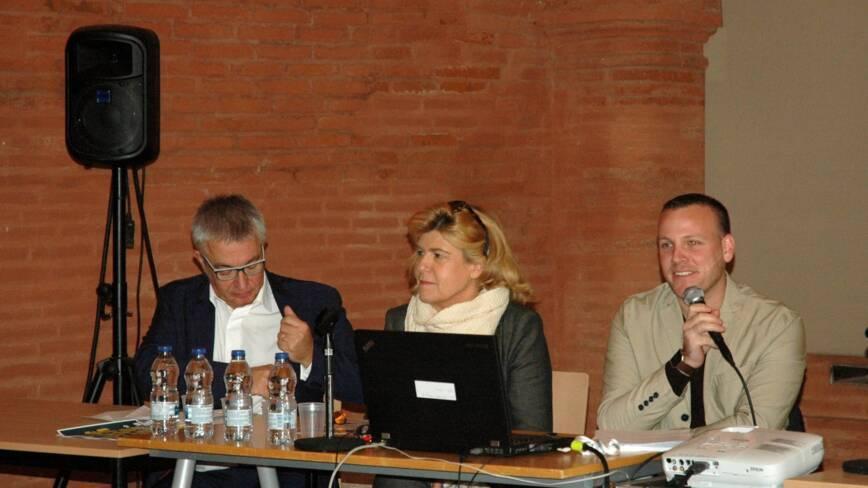 Fredy Ficarra, Dominique Faure et Yvan Godard