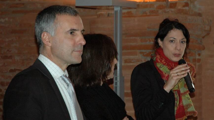 Laurent Roturier, Anne Matheron et Yasmine Carlet