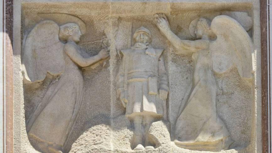 Monument aux morts de Perpignan (66). Détail