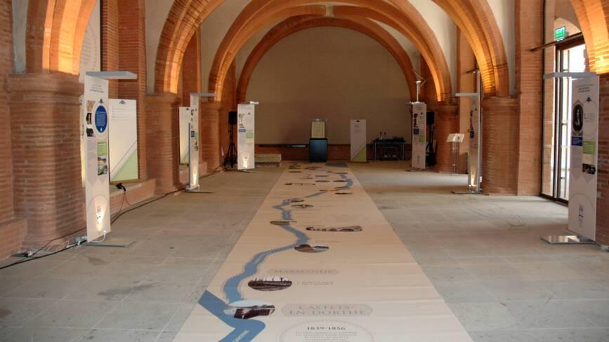 Expo sur le canal du Midi