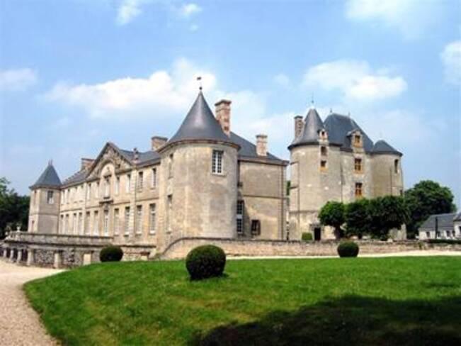 Aisne, Vic-sur-Aisne, parc du château