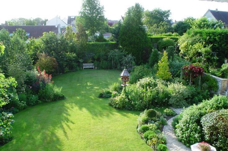 Oise, Borest, les jardins de Théo