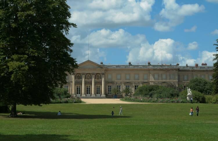 Oise, Compiègne, parc du palais impérial