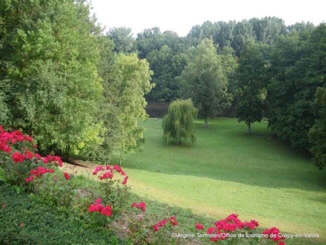 Oise, Crépy-en-Valois, parc de Géresmes