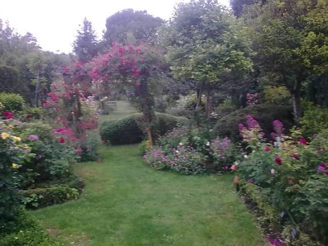 Oise, Fontaine-Chaalis, le jardin d'Elyane
