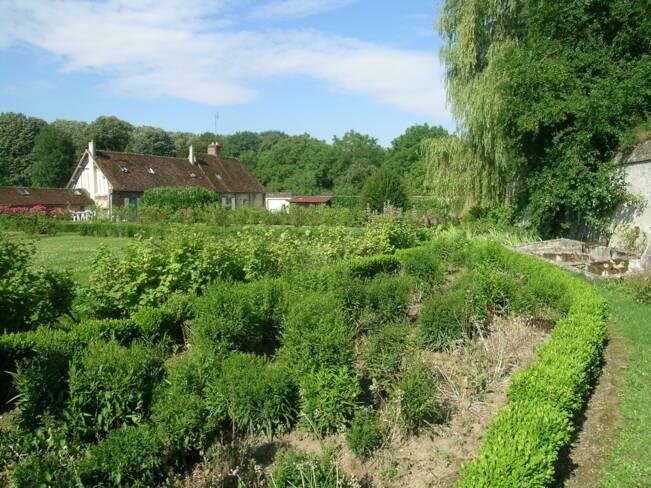 Oise, Le Fayel, Jardin du château