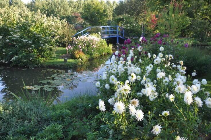 Oise, Saint-Paul, Jardin du peintre André Van Beek