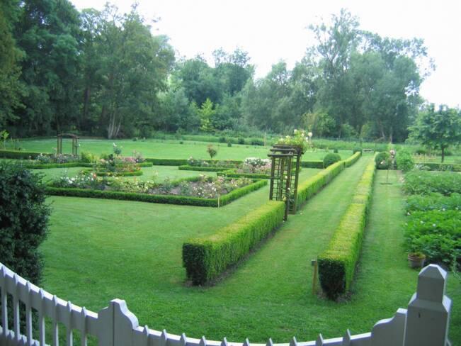Oise, Senlis, parc du château de Valgenceuse