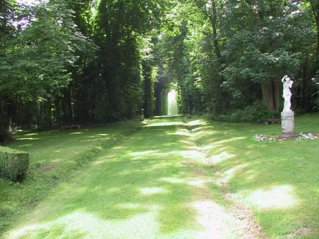 Oise, Versigny, parc du château