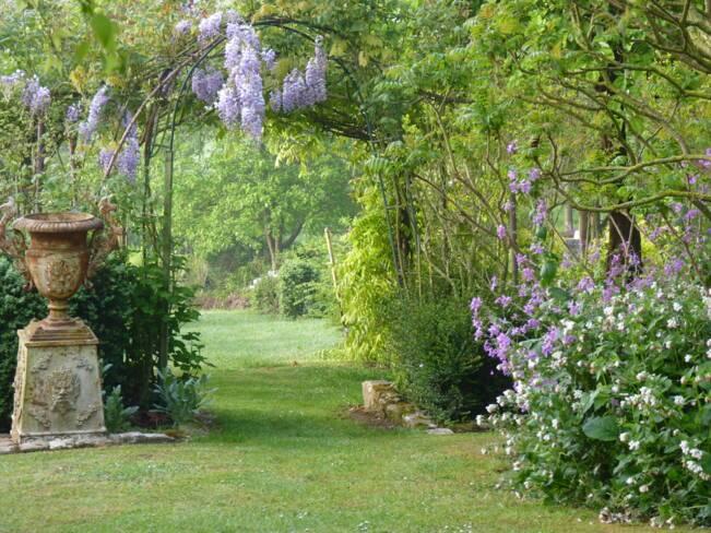 Oise, Villers-Saint-Sépulcre, Jardin des couleurs de l'instant
