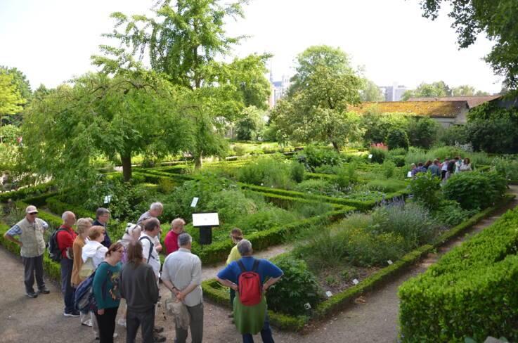 Somme, Amiens, le jardin des plantes