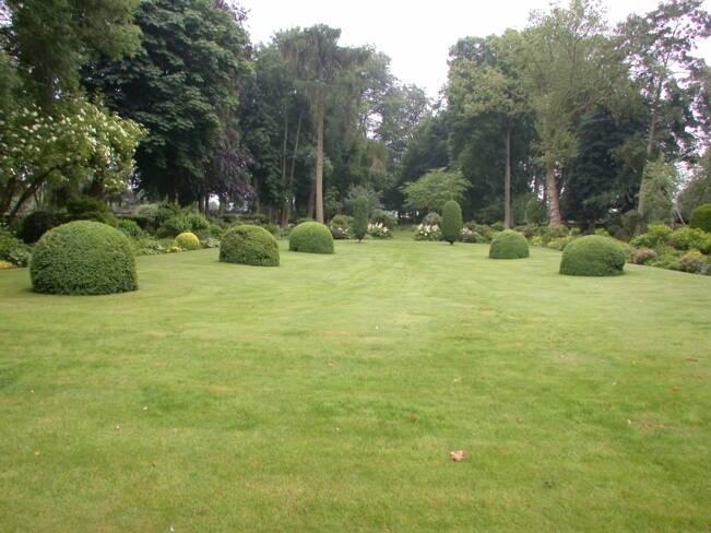 Somme, Maizicourt, jardins et parc du château