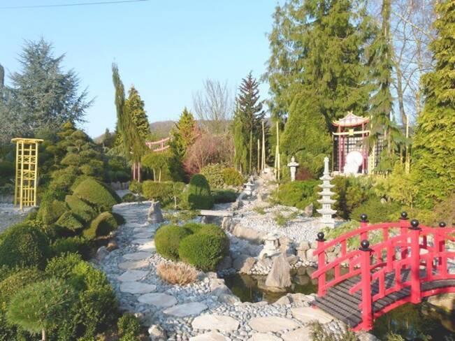 Somme, Sénarpont, les jardins de Ly