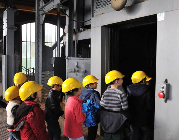 Parc-musée de la Mine Saint-Etienne - visites enfants