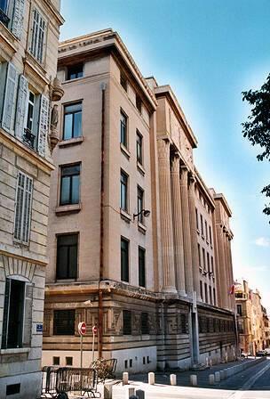 Annexe du palais de justice - Marseille, façade rue Emile Pollak