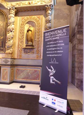 Annonay  Chapelle-Sainte-Marie- inauguration 6 avril 2018