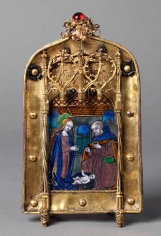 Baiser de Paix Nativité 16°siècle - Trésor de la cathédrale Saint-Jean à Lyon