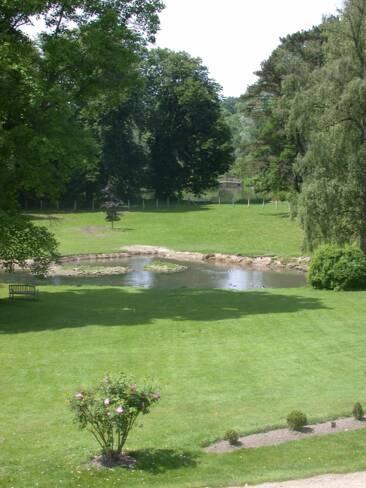 Somme, Méricourt, parc du château