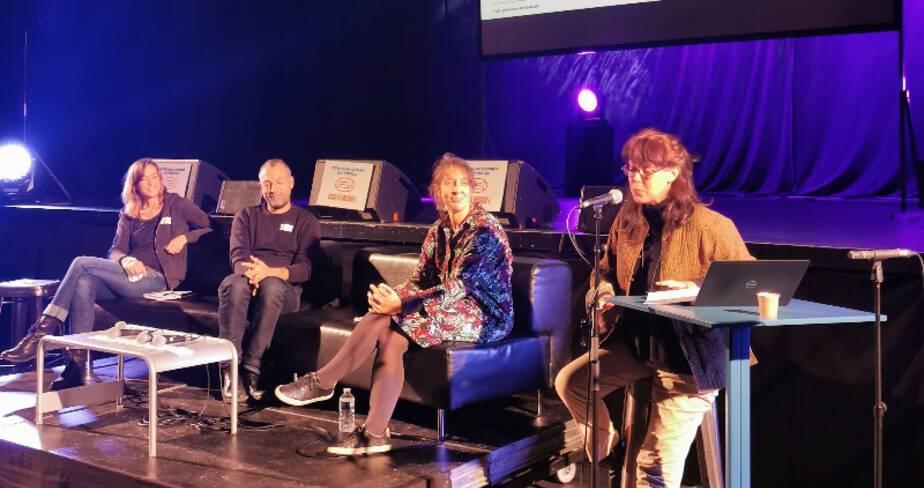 """Etats généraux des festivals - Nancy - Table ronde """"Parcours artistiques"""""""