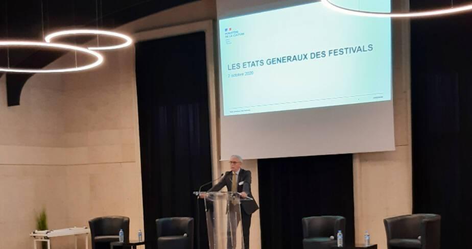 Etats généraux des festivals - Châlons-en-Champagne - Intervention du secrétaire général de la Préfecture de la Marne