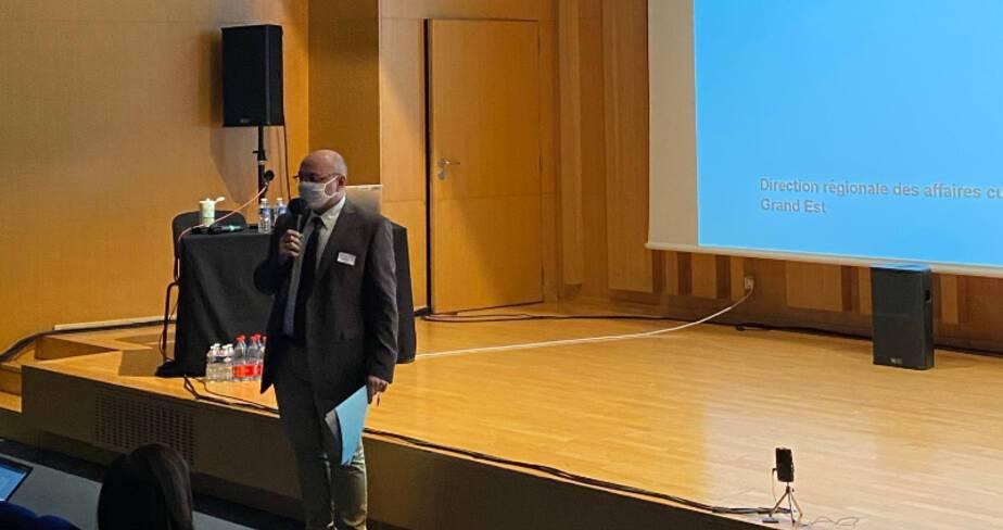 Etats généraux des festivals - Strasbourg - Intervention de Jean-Michel Knop, directeur régional adjoint DRAC Grand Est