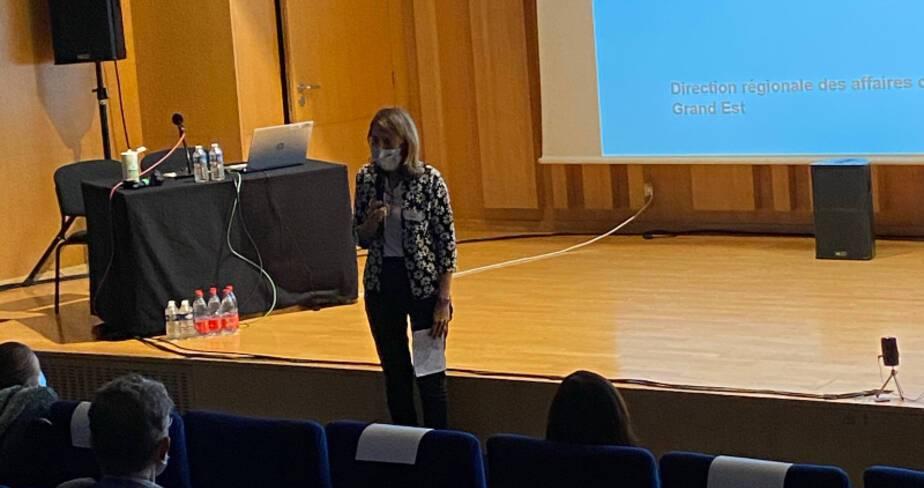Etats généraux des festivals - Strasbourg - Intervention de Aymée Rogé, directrice de la culture de l'eurométropole de Strasbourg