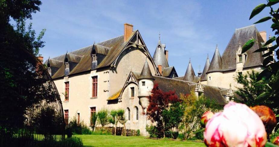 (41) Le Controis-en-Sologne : jardin du château de Fougères sur Bièvre
