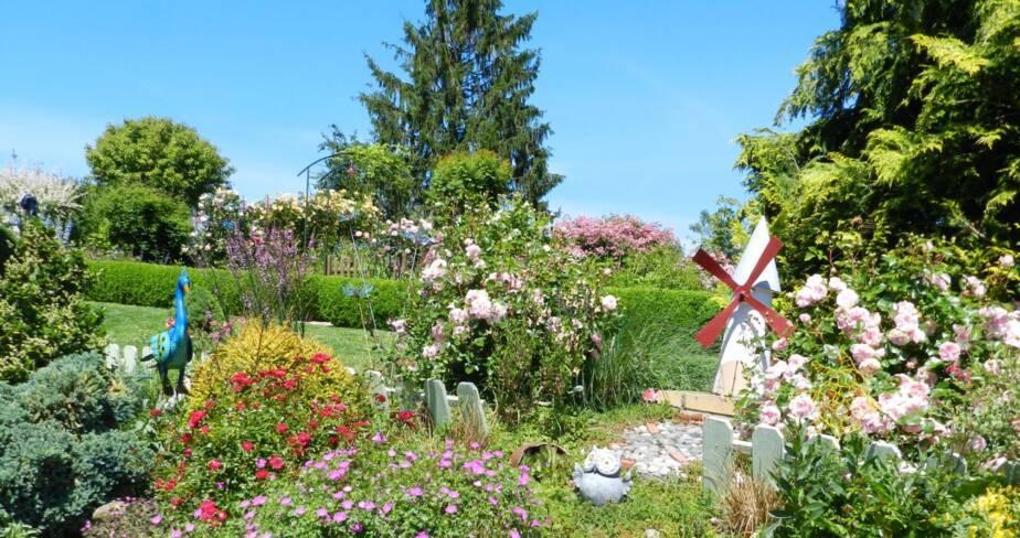 (18) Vierzon : jardin de Chantal