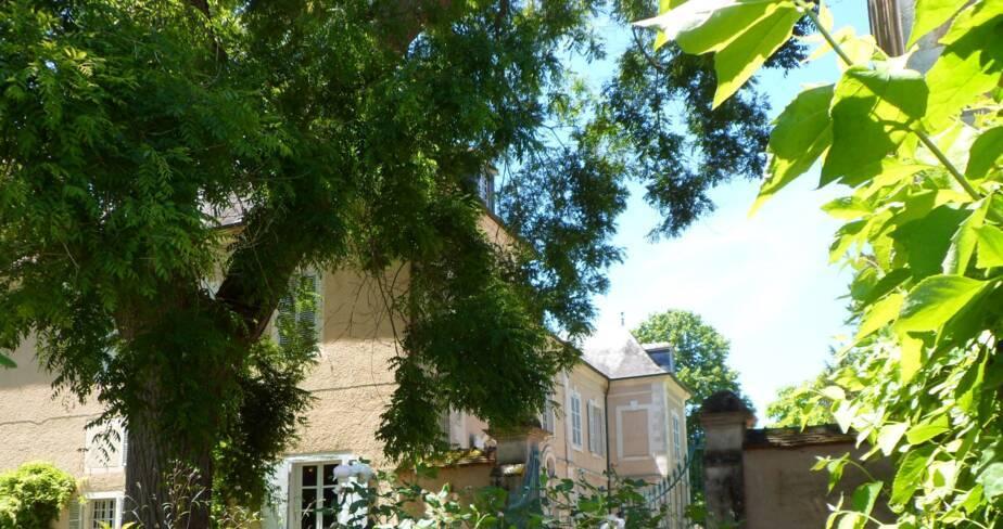 (18) Nohant-Vic : jardin du domaine de George Sand